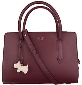 Radley London Liverpool Street Leather MediumSatchel Handbag