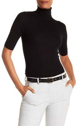 360 Cashmere Cai Turtleneck Elbow Length Sleeve Cashmere Sweater