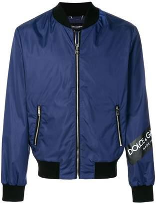 Dolce & Gabbana branded bomber jacket