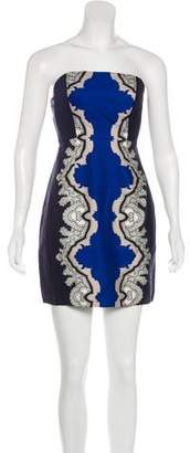 Tibi Silk & Wool-Blend Dress