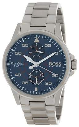 BOSS Men's Aviator Chronograph Bracelet Watch, 44mm