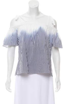 Milly Eden Off-The-Shoulder Top w/ Tags