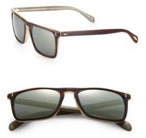 Oliver Peoples Bernardo 47MM Square Sunglasses