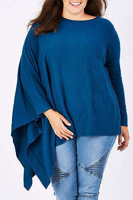 NEW bird by design Womens Jumpers The Glamour Knit Ocean
