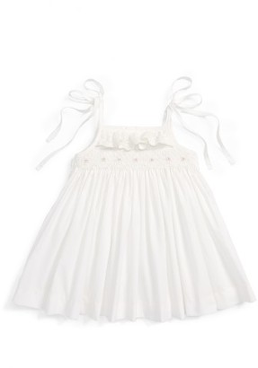 Infant Girl's Luli & Me Smocked Sundress $54 thestylecure.com