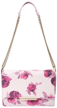 Kate SpadeEmerson Place Lenia Roses Leather Shoulder Bag