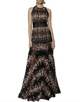 Bronx & Banco Megan Blush Maxi Dress
