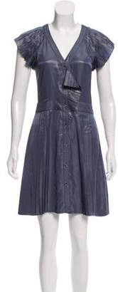 Marc by Marc Jacobs Pleated Knee-Length Dress