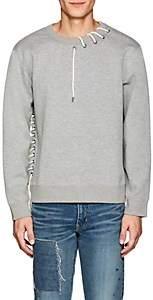 Craig Green Men's Lace-Up Jersey Sweatshirt - Light Gray