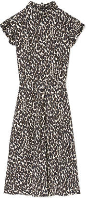 La DoubleJ Bon Ton Leopard Dress