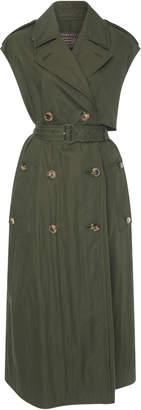 Bottega Veneta Belted Button-Detailed Silk Trench Coat
