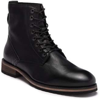 MODERN FICTION Ethos Plain Toe Leather Lace-Up Boot