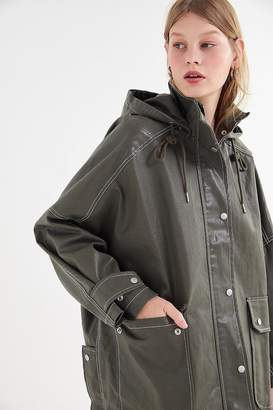 Urban Outfitters Hooded Longline Anorak Jacket
