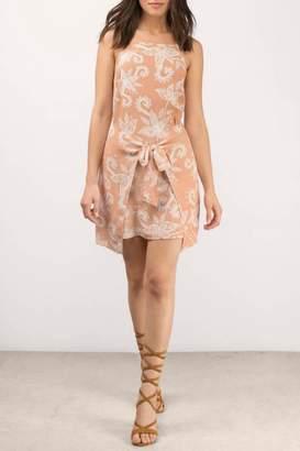 MinkPink Nusa Dua Tie-Dress
