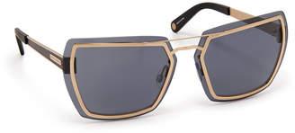 Henri Bendel Quincy Square Sunglasses