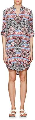 L'Agence WOMEN'S AMANDA PAISLEY & FLORAL SILK DRESS