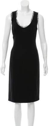 Miu Miu Sleeveless Knee-Length Dress