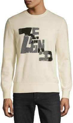 Ermenegildo Zegna Graphic Cashmere Blend Sweater