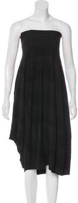 Oska Striped Midi Dress