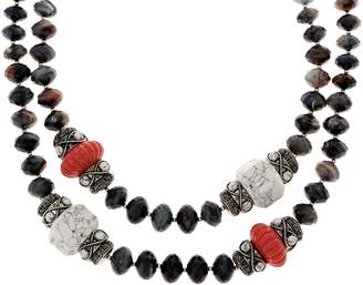 "Joan Rivers Classics Collection Joan Rivers ""The Favorite"" 19"" Beaded Necklace w/ 3"" Extender"