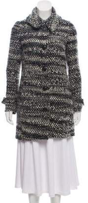 Thakoon Wool Bouclé Knee-Length Coat
