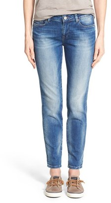 Women's Mavi Jeans 'Emma' Stretch Slim Boyfriend Jeans $118 thestylecure.com