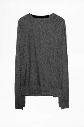 Zadig & Voltaire Crisp Cashmere Sweater