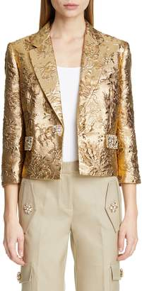 Michael Kors Jacquard Crop Jacket