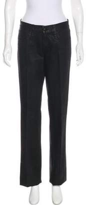 Ralph Lauren Mid-Rise Coated Jeans