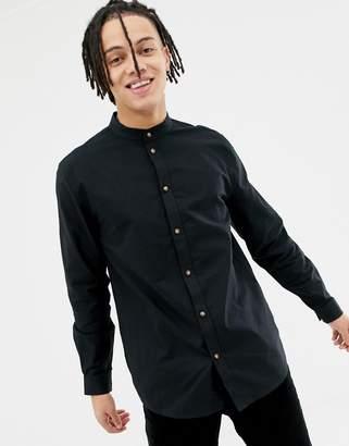 Weekday Haring Collarless Shirt