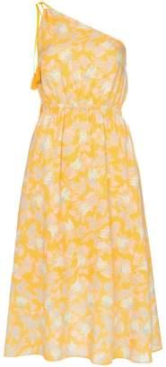 A Peace Treaty Yuna one-shoulder print cotton blend dress