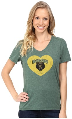 Life is good Baylor Heart Short Sleeve Tee $32 thestylecure.com
