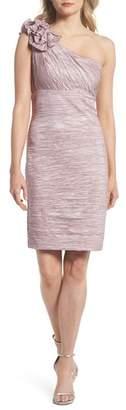Eliza J One Shoulder Sheath Dress
