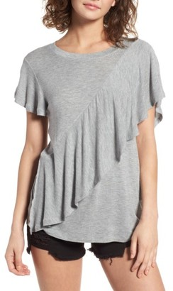 Women's Bp. Ruffle Tee $35 thestylecure.com