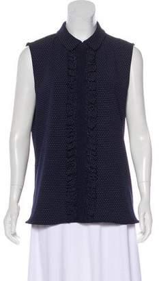 Karl Lagerfeld Sleeveless Polka Dot Top w/ Tags