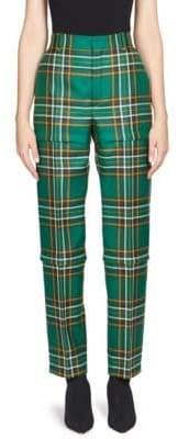 Balenciaga Plaid Combo Pants