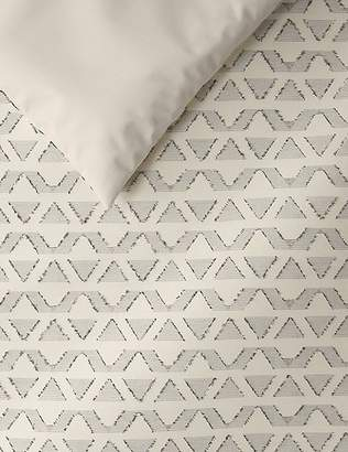 Marks and Spencer Pure Cotton Textured Bedding Set