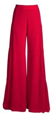Alexis Talley Silk Flare Pants