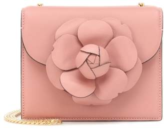 Oscar de la Renta Mini TRO leather shoulder bag