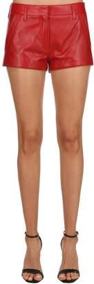 Saint Laurent Nappa Leather Shorts