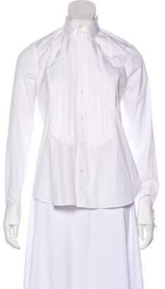 Ralph Lauren Black Label Long Sleeve Button-Up Blouse w/ Tags