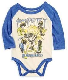 Rowdy Sprout Baby Boy's Tom Petty Raglan Bodysuit