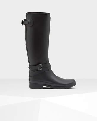 Hunter Women's Refined Slim Fit Adjustable Tall Rain Boots