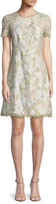 Elie Tahari Floral Lace Dress