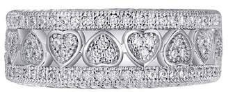Lafonn Micro Pave Simulated Diamond Endless Heart Band