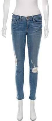 Frame Low-Rise de Jeanne Jeans
