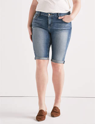 Lucky Brand Plus Ginger Bermuda Jean Short