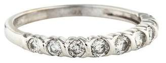 Ring 14K Diamond Wedding Band