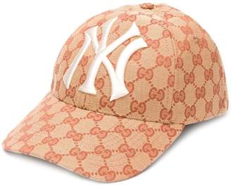 Gucci baseball hat with NY Yankees patch