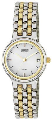 Citizen Ladies' Eco-Drive Two-Tone Bracelet Watch